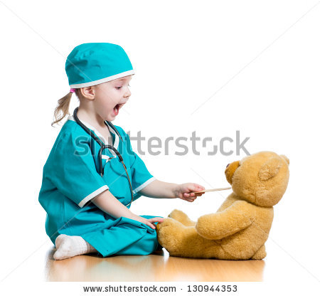 stock-photo-adorable-child-dressed-as-doctor-playing-with-toy-over-white-130944353