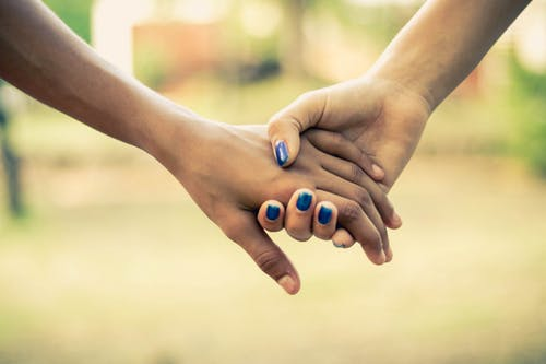 Holding hands - 2